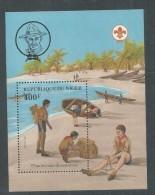 Niger BF N° 38 XX 75 ème Anniversaire Du Scoutisme,  Le Bloc Sans Charnière, TB - Niger (1960-...)