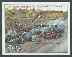 """Niger BF N° 46 XX Promotion De La Philatélie : """"Italia' 85 Rome""""  Le Bloc Sans Charnière, TB - Niger (1960-...)"""