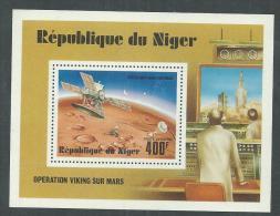 Niger BF N° 17 XX  Opération Viking Sur Mars,  Le Bloc Sans Charnière, TB - Niger (1960-...)