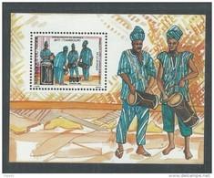 Niger BF N° 49 XX Jumelage Avec L'année Européenne De La Musique,  Le Bloc Sans Charnière, TB - Niger (1960-...)