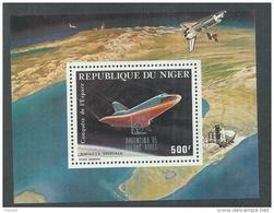 """Niger BF N° 48 XX Promotion De La Philatélie : """"Argentina' 85 Buenos Aires""""  Le Bloc Sans Charnière, TB - Niger (1960-...)"""