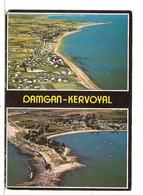 Damgan - Kervoyal (56) Les Plages - The Beaches - Die Strande ( Vue Aerienne ) - Frankreich