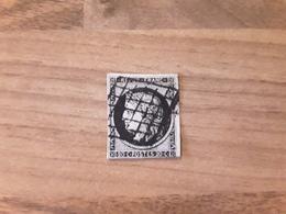 FRANCE -  Timbre N°3 CERES Cote Y&T 65 € Oblitéré - 1849-1850 Cérès