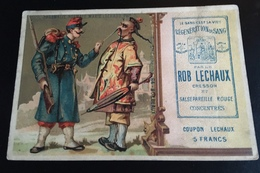 Rob Lechaux Sang Bordeaux Cresson Chromo Bognard Chine Chinois Moustaches Militaire - Chromos