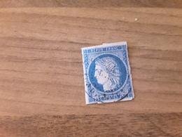 FRANCE -  Timbre N°4 F -CERES Cote Y&T 65 € Oblitéré - 1849-1850 Ceres