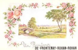 FRONTENAY-ROHAN-ROHAN   (79 - Deux Sèvres) Un Bonjour - Frontenay-Rohan-Rohan