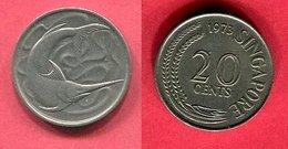 20 CENT ( KM 4 ) TB+ 1,5 - Singapour