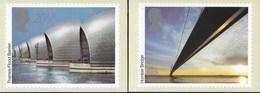 INGHILTERRA - BRITISH ENGINEERING ACHIEVEMENT 1983 - 3 CARTOLINE - EDIZ. THE HOUSE OF QUESTA - NUOVE - Francobolli (rappresentazioni)