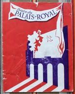 Programme THEATRE DU PALAIS ROYAL Illustrateur Publicite - Programmes