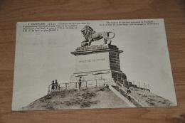 6765- WATERLOO, LE LION - 1926 - Waterloo