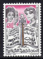 Tunisie N° 1187  XX  Conférence Régionale Africaine Sur Les Droits De L'Homme Sans Charnière TB - Tunisie (1956-...)