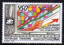 Tunisie N° 1200 XX Conférence Mondiale Sur Les Droits De L'Homme Sans Charnière TB - Tunisie (1956-...)