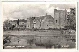 Stokesay Castle From The Lake - Shropshire