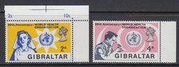 Gibraltar 1968 WHO 2v ** Mnh (41506D) - Gibraltar