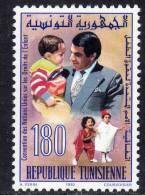 Tunisie N° 1186  XX  Convention Des Nations Unies Sur Les Droits De L'Enfant Sans Charnière TB - Tunisie (1956-...)