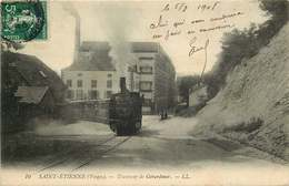 VOSGES  SAINT ETIENNE  Tramway De Gerardmer - Saint Etienne De Remiremont