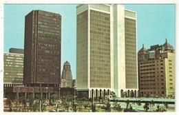 View Toward The Erie County Savings Bank And M & T Plaza, Buffalo - Buffalo