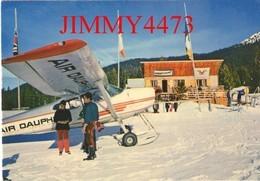 """CPM - L' Altiport De MERIBEL Les ALLUE En 1980 ( Canton De Moutiers ) 73 Savoie - Imp. COMBIER """" CIM """" - Aérodromes"""