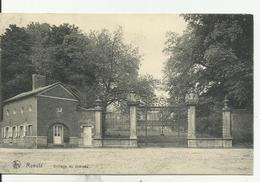 ROEULX   Grillage Du Château. - Le Roeulx