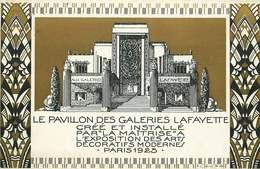 PARIS EXPOSITION ART DECO 1925  LE PAVILLON DES GALERIES LAFAYETTE - Mostre