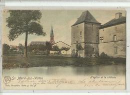 ST MARD Virton - L'Eglise Et Le Château - Nels 32 N° 38 Couleur - Virton