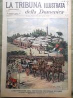 La Tribuna Illustrata 22 Aprile 1900 Cazotte Zanelli Esposizione Di Parigi Ponza - Livres, BD, Revues