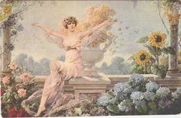NU /     / TTBE / EDITEUR   L.ABBEMA /  LOT B43 - Weibliche Schönheit Von Früher < 1920