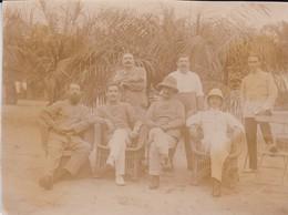 Photos - Originales > Afrique Congo Makoua Colonie Européenne Troupe Coloniale - Africa