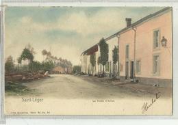 SAINT LEGER - La Route D'Arlon  - Nels 32 N° 83 Couleur - Saint-Léger