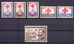 1096/1101 RODE KRUIS  POSTFRIS** 1959 - Belgique