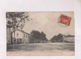 CPA    DPT 31 TOULOUSE, CASERNE  BD LESCROSSES En 1908! - Toulouse