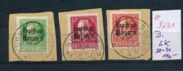 Bayern Nr. LK  38-40  O   (ee9231  ) Siehe Scan - Bavière