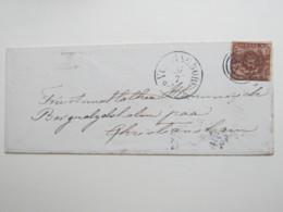 Brief  Mit Nummernstempel  78 - Briefe U. Dokumente