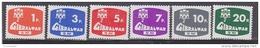 Gibraltar 1976 Postage Due 6v ** Mnh (41506P) - Gibraltar