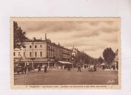 CPA    DPT 31 TOULOUSE, CARREFOUR DES BDS ET DES ALLEES JEAN JAURES - Toulouse