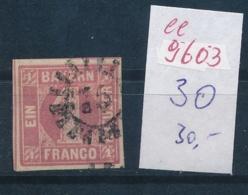 Bayern Nr.  3  O  (ee9603  ) Siehe Scan - Bavière