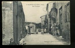 BTE 11 Saint Martin Le Vieil, Rue Principale - Autres Communes