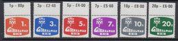 Gibraltar 1976 Postage Due 6v (+margin) ** Mnh (41506Q) - Gibraltar