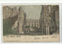 ORVAL - Les Ruines - Nels 32 N° 11 Couleur - Florenville