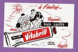 Buvard Vitabrill A L Arrivée Toujours Bien Coiffé Production Vitapointe - Profumi & Bellezza