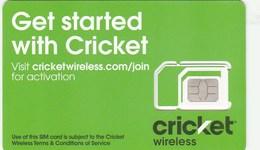 Canada - Cricket Wireless (standard,micro,nano SIM)- GSM SIM  - Mint - Canada