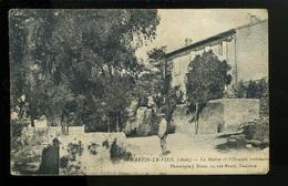BTE 11 Saint Martin Le Vieil, La Mairie Et L'ormeau Centenaire - Francia