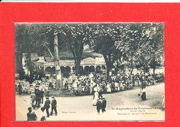 31 TOULOUSE EXPO 1908  Cpa Animée Terrasse Du Grand Café Restaurant   86 Photo Provost - Toulouse