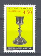 Andorra -Franc 1998 Arte Religioso. Y=506 E=527 (**) - Nuevos