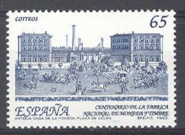 Spain 1993. Cent FNMT Ed 3266 (**) Mi 3124 - 1931-Hoy: 2ª República - ... Juan Carlos I