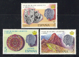 Spain. 1978.Visita Reyes Ed 2493-95 (**) Mi 2385-2387 - 1931-Aujourd'hui: II. République - ....Juan Carlos I