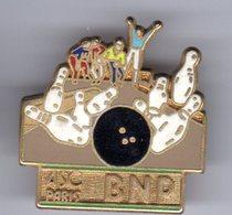 PIN'S SPORT BOWLING BNP Signé BALLARD - Bowling