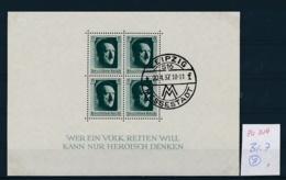 D.-Reich Block  7    (zu314   ) Bild Vergrößert Beachten ! - Deutschland