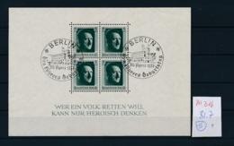 D.-Reich Block  7    (zu316   ) Bild Vergrößert Beachten ! - Deutschland