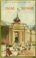 CACAO SUCHARD - NEUCHATEL - SUISSE - CHROMO CARD - EXPOSITION UNIVERSELLE DE PARIS 1900  (BG1895) - Suchard